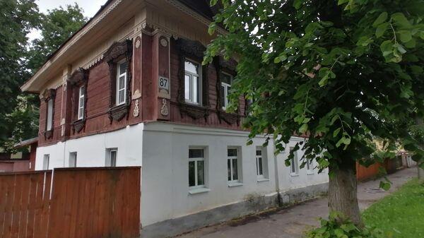 Суздаль. Жилой дом на улице Ленина