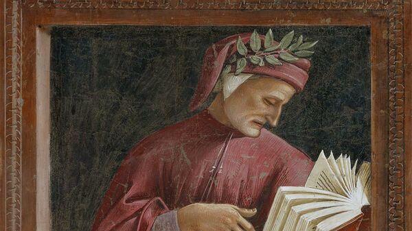 Фреска с портретом Данте авторства Луки Синьорелли