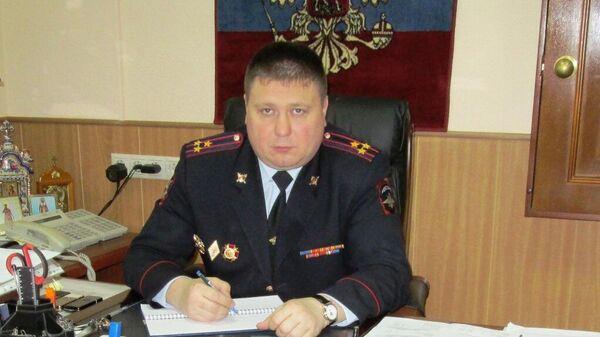 Полковник полиции Ермаков Олег Борисович