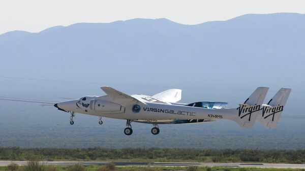 Космический корабль VSS Unity компании Virgin Galactic