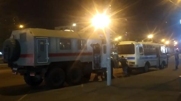 Видео с места массовой драки у метро Кузьминки