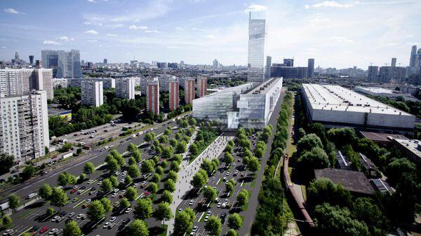 Проект Национального космического центра на Филёвском бульваре