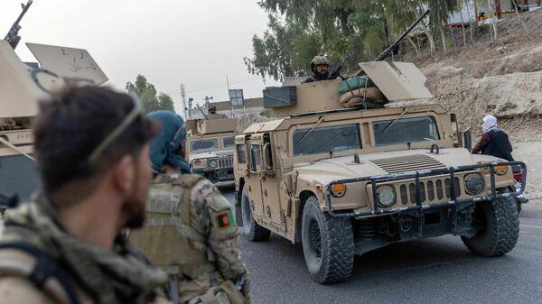 Афганские военнослужащие в провинции Кандагар