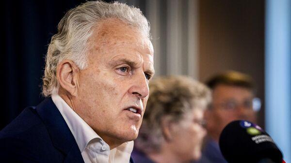Голландский криминальный репортер  Питер де Фрис