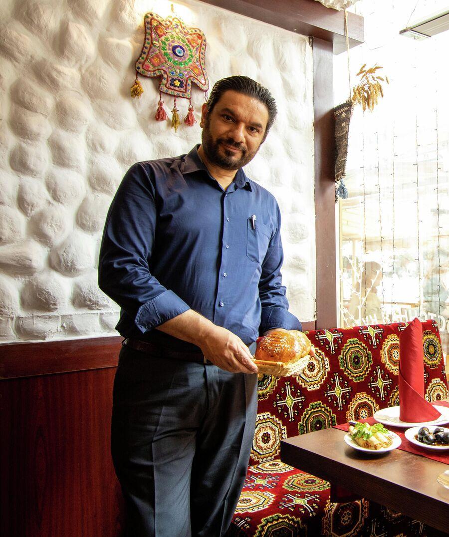 Директор одного из турецких ресторанов Шериф Йавуз