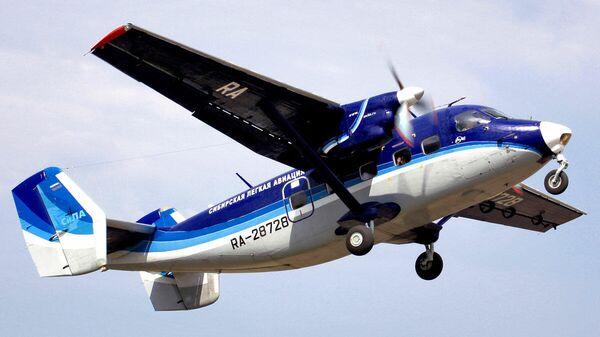 Самолет Ан-28 авиакомпании Сила. Архивное фото