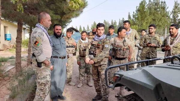 Военнослужащие правительственных войск Афганистана на линии соприкосновения с Талибами (запрещено в РФ) в Герате