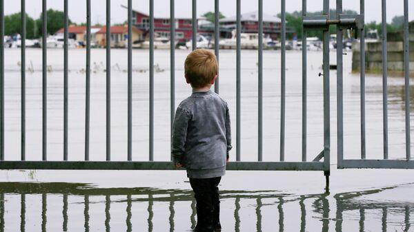 Последствия наводнения в Нидерландах
