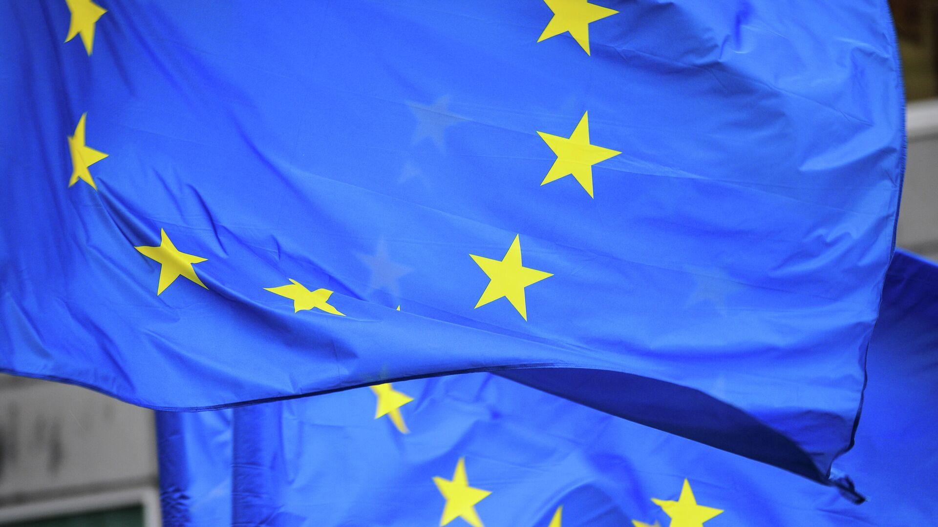 Флаги Евросоюза - РИА Новости, 1920, 03.08.2021
