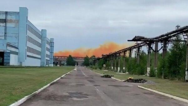 Авария на Ровненском азотном заводе на Украине
