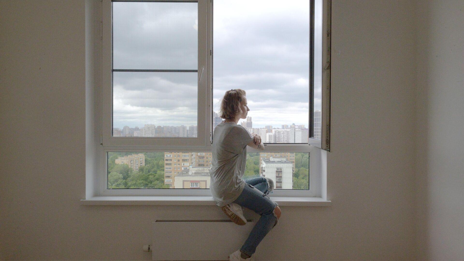 Дом, введенный по программе реновации жилищного фонда - РИА Новости, 1920, 22.07.2021