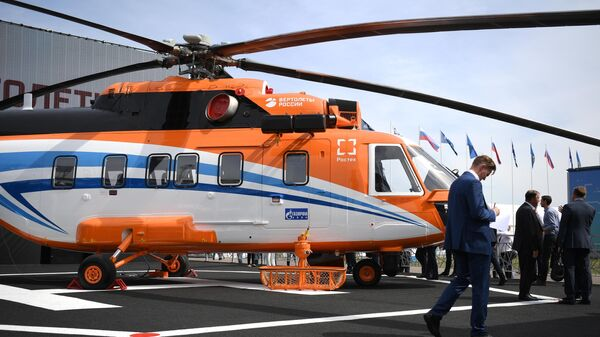 Вертолёт Ми-171А3 на МАКС-2021