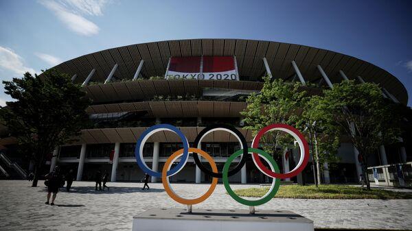 Олимпийский стадион в Токио, Япония