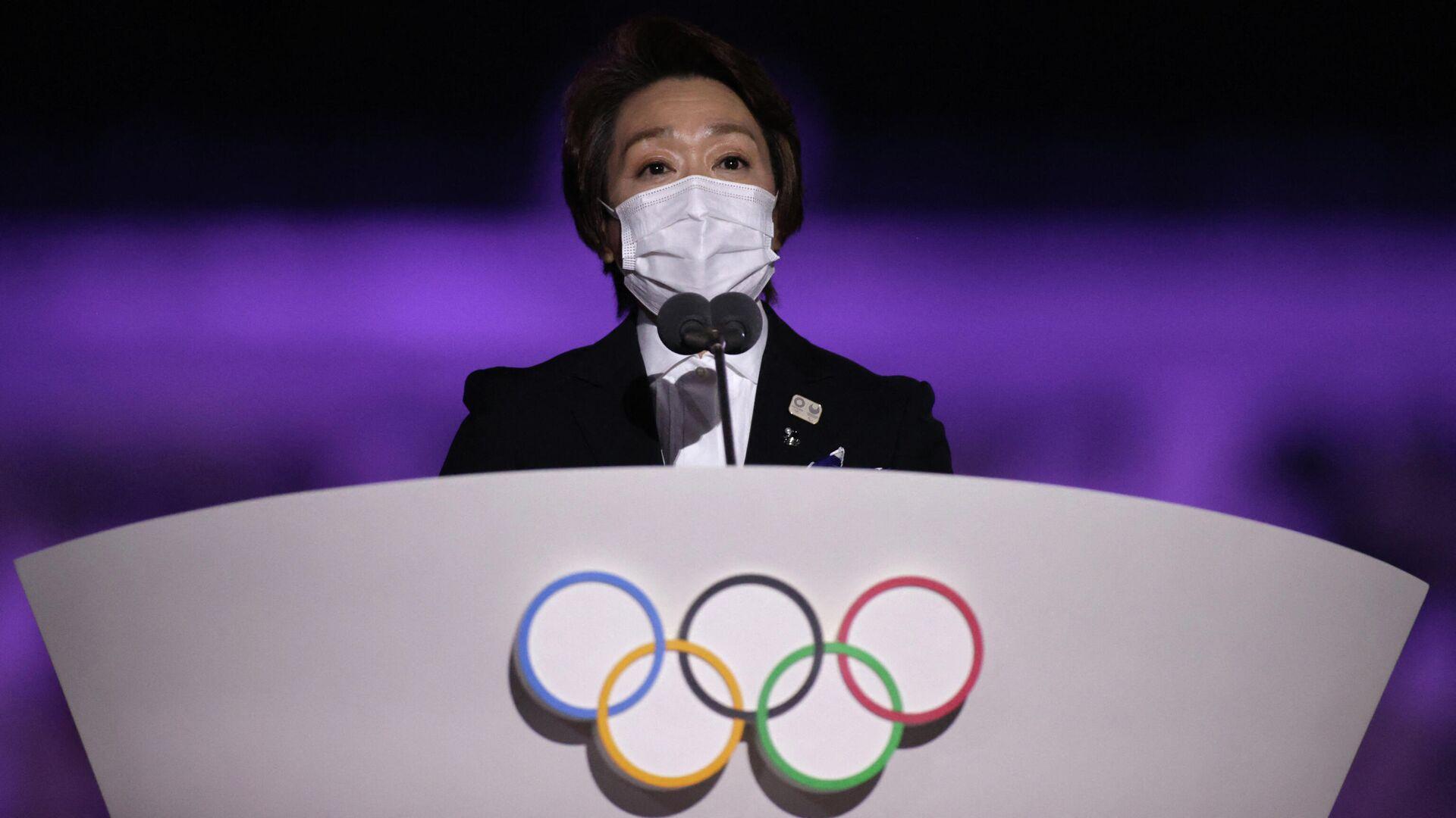 Президент организационного комитета Олимпийских и Паралимпийских игр в Токио Сэйко Хасимото - РИА Новости, 1920, 23.07.2021