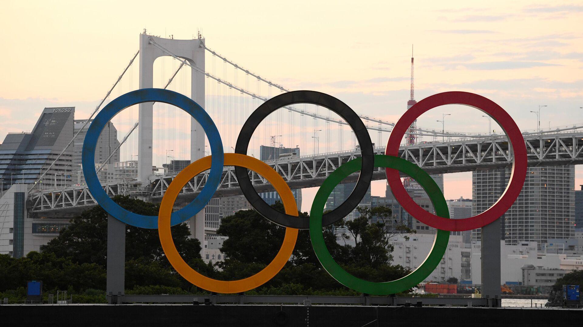 Токио накануне открытия Олимпийских игр - РИА Новости, 1920, 05.08.2021