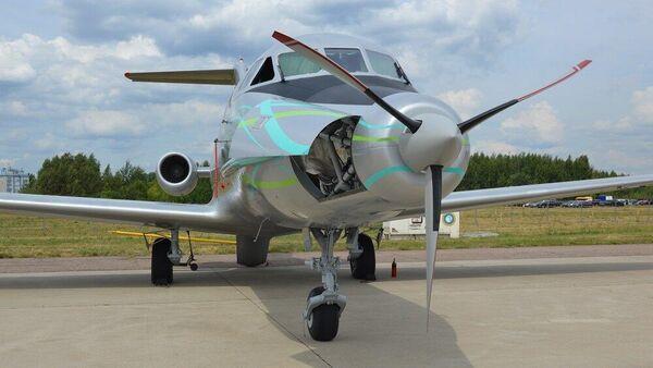 Як-40 ЛЛ на выставке Международного авиационно-космического салона МАКС-2021