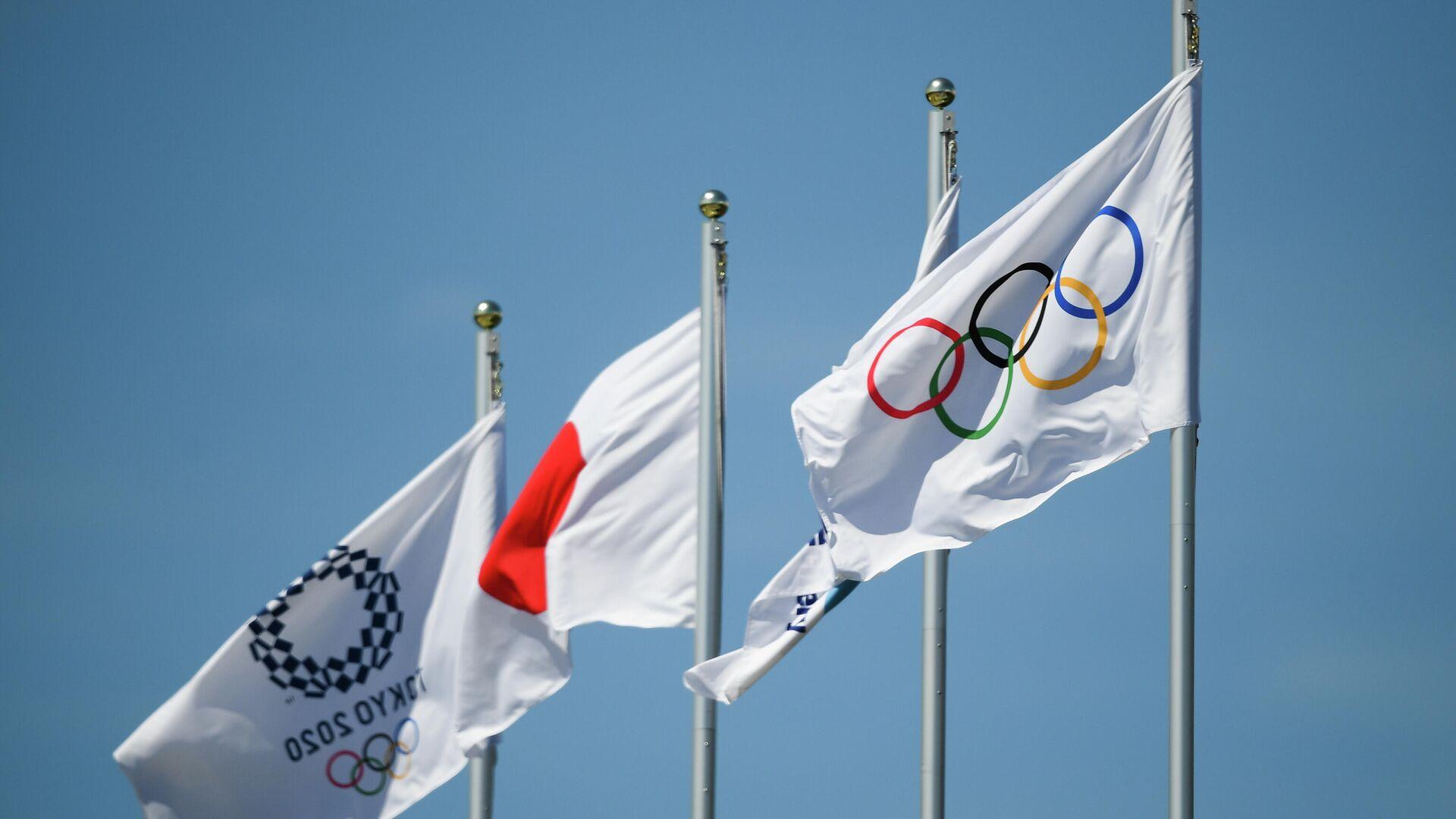 Токио накануне открытия Олимпийских игр - РИА Новости, 1920, 02.08.2021
