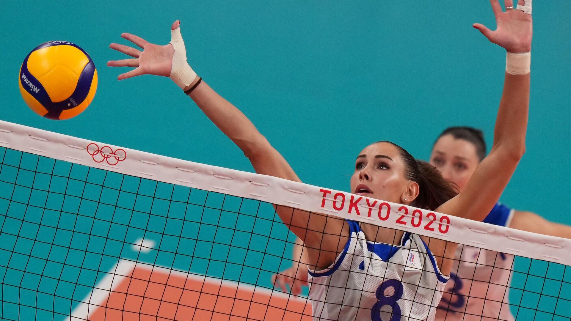 Олимпиада-2020. Волейбол. Женщины. Матч Россия - Италия - РИА Новости, 1920, 25.07.2021