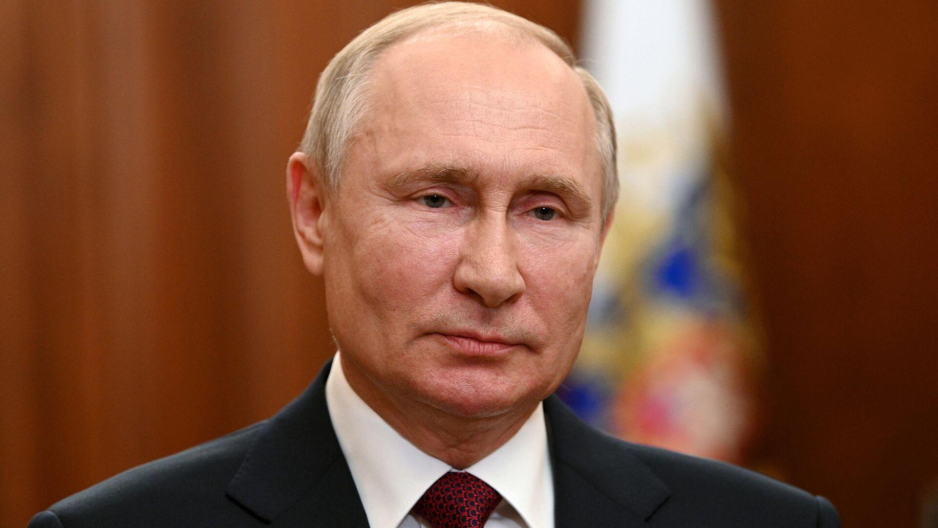 Президент России Владимир Путин - РИА Новости, 1920, 03.08.2021