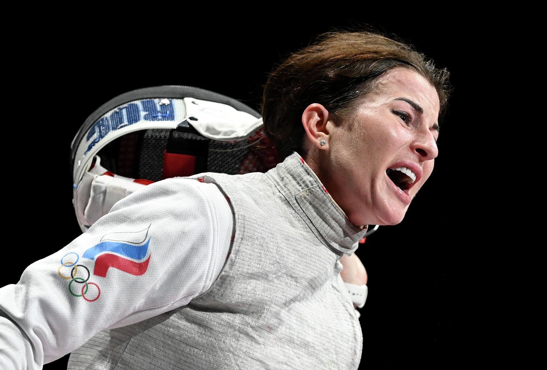 Олимпиада-2020. Фехтование. Женщины. Рапира - РИА Новости, 1920, 28.07.2021