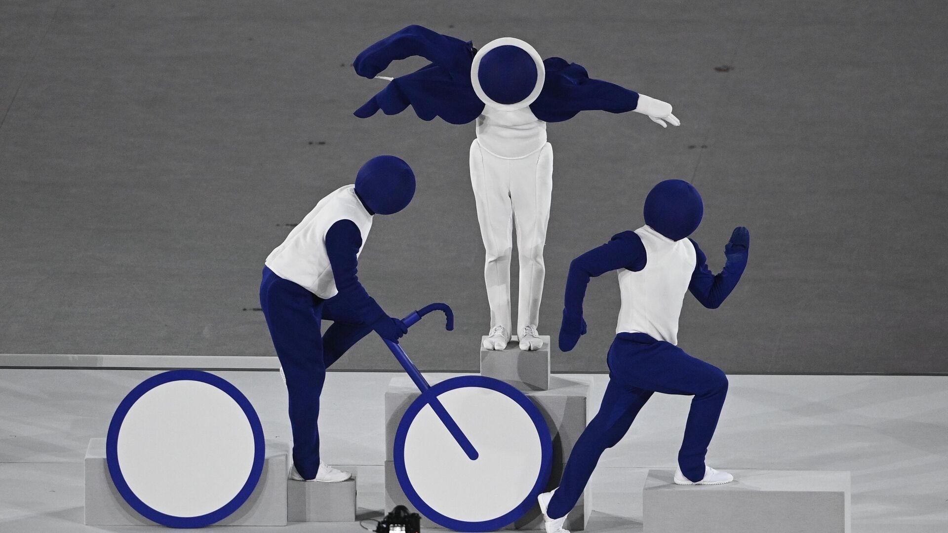Церемония открытия XXXII летних Олимпийских игр - РИА Новости, 1920, 26.07.2021