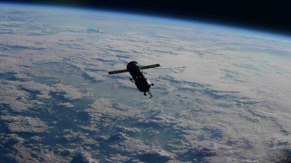 Модуль Пирс после отстыковки от МКС