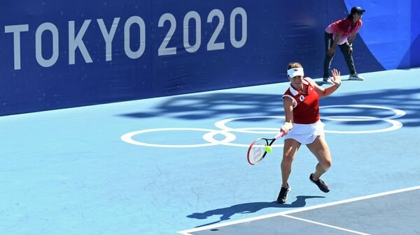Анастасия Павлюченкова на Олимпийских играх в Токио