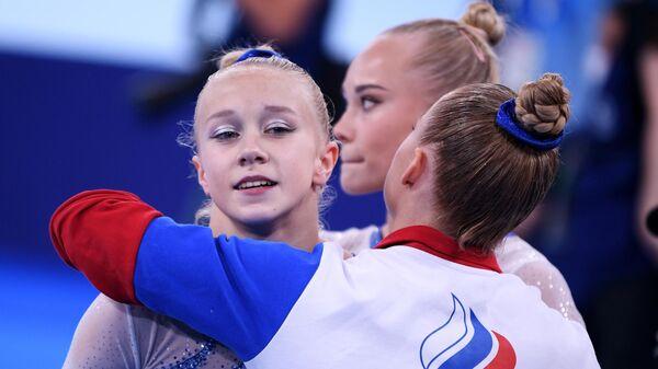 Российская гимнастка Виктория Листунова