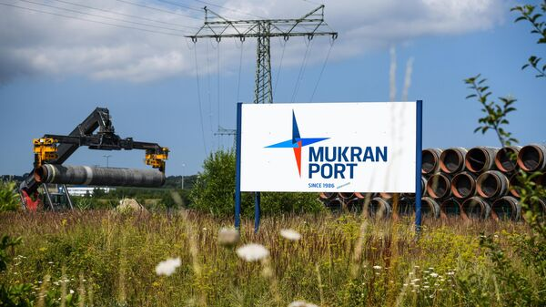 Порт Мукран - логистический центр Северного потока-2