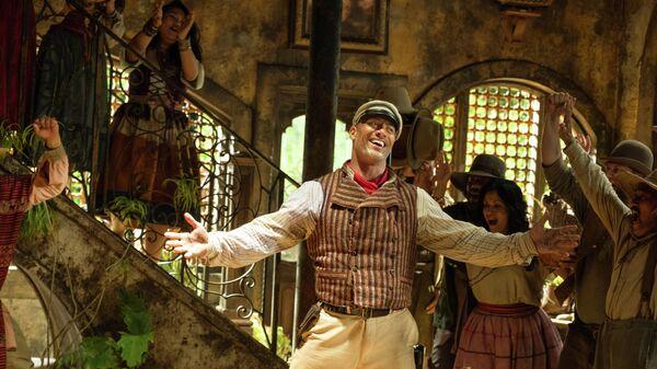 Кадр из фильма Круиз по джунглям