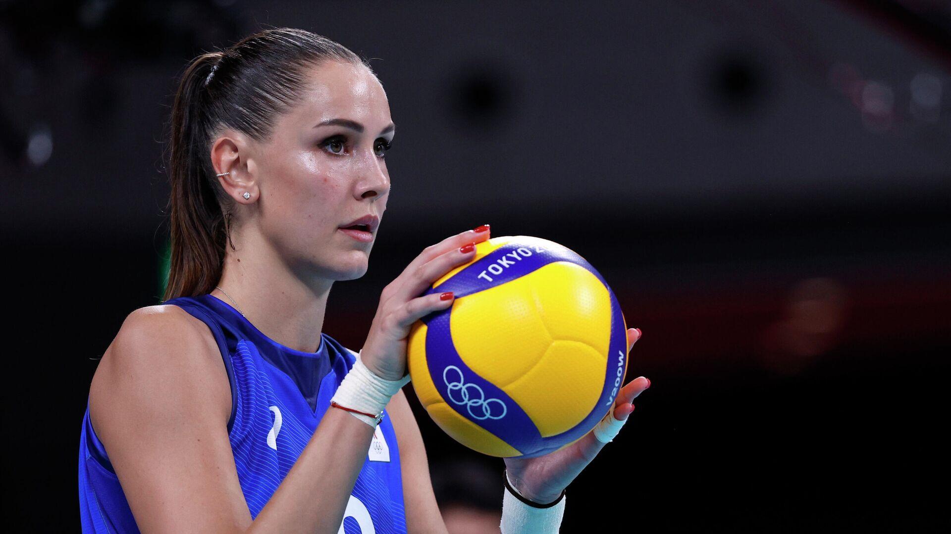 Российская волейболистка Наталия Гончарова - РИА Новости, 1920, 29.07.2021