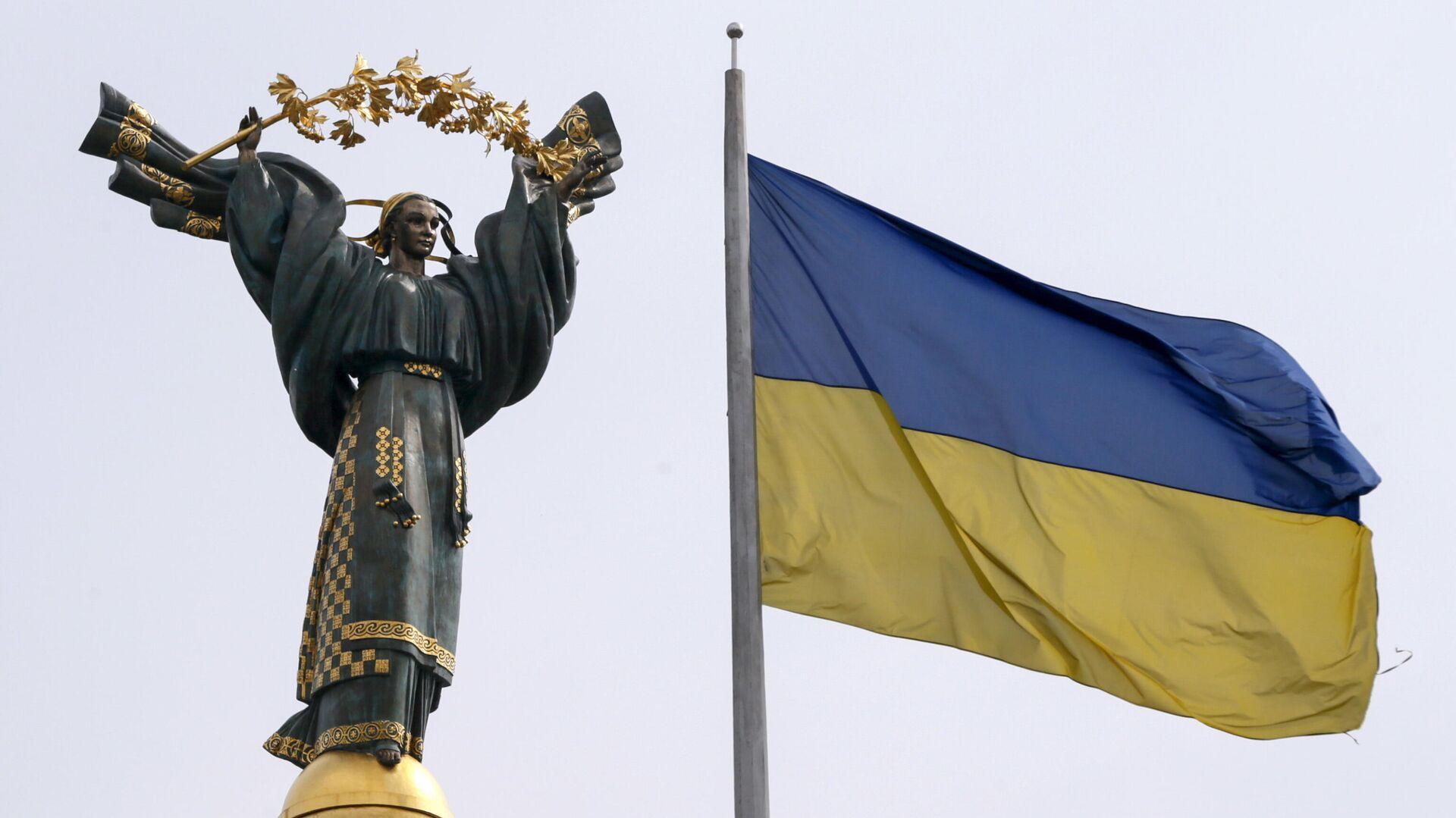 Монумент Независимости в Киеве - РИА Новости, 1920, 04.08.2021