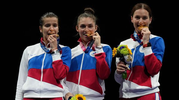 Олимпиада-2020. Фехтование. Женщины. Сабля. Командное первенство