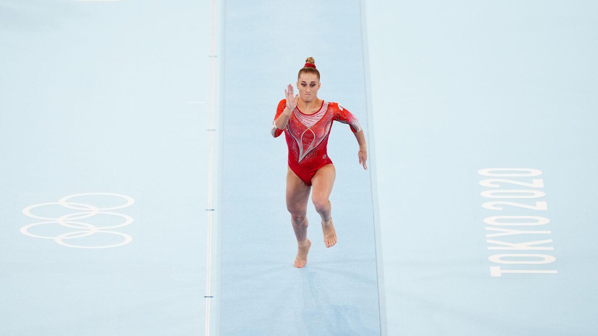 Олимпиада-2020. Спортивная гимнастика. Женщины. Опорный прыжок - РИА Новости, 1920, 01.08.2021