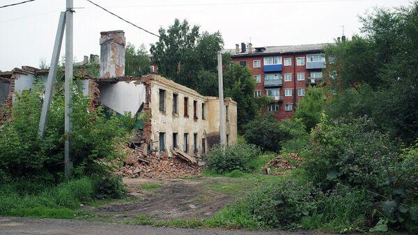 Снос домов в районе Подземгаз