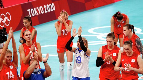 Российские волейболистки на Олимпиаде в Токио