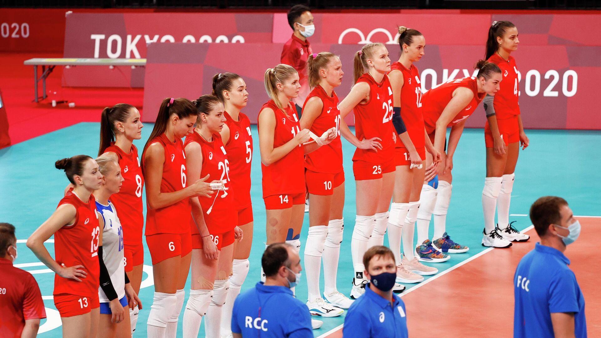 Женская сборная России по волейболу - РИА Новости, 1920, 04.08.2021