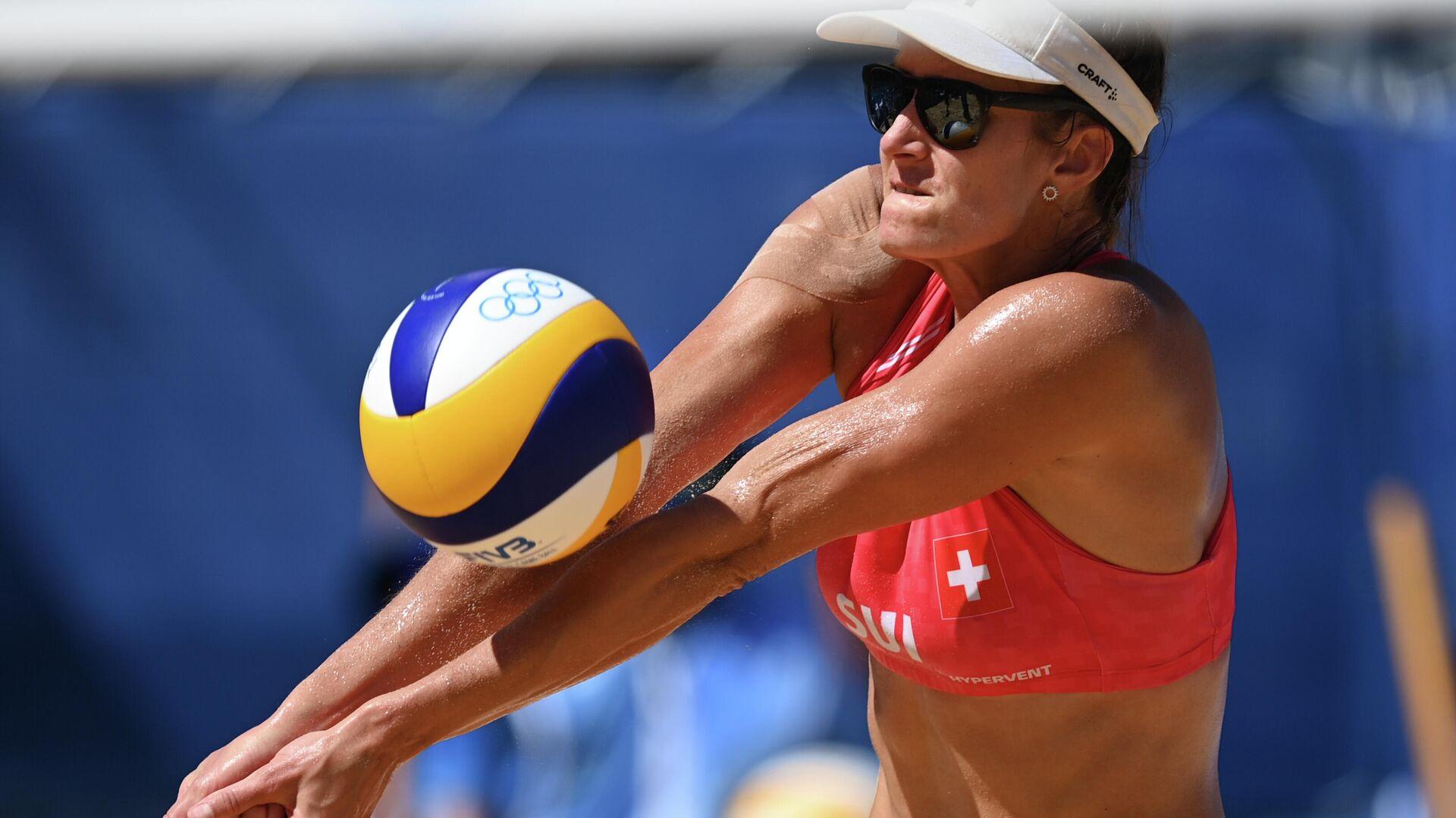 Олимпиада-2020. Пляжный волейбол. Женщины. Полуфиналы - РИА Новости, 1920, 06.08.2021