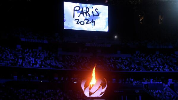 Олимпийский огонь Париж-2024