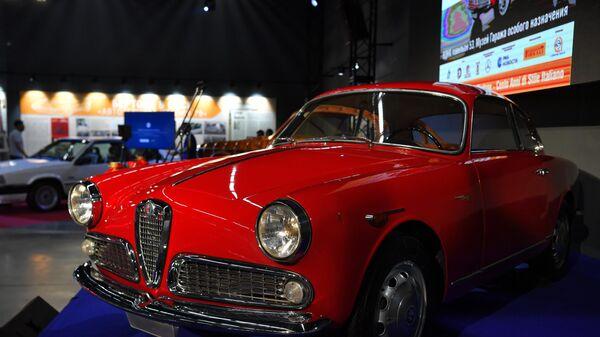Выставка 100 лет итальянского стиля. Автомобили Нуччо Бертоне
