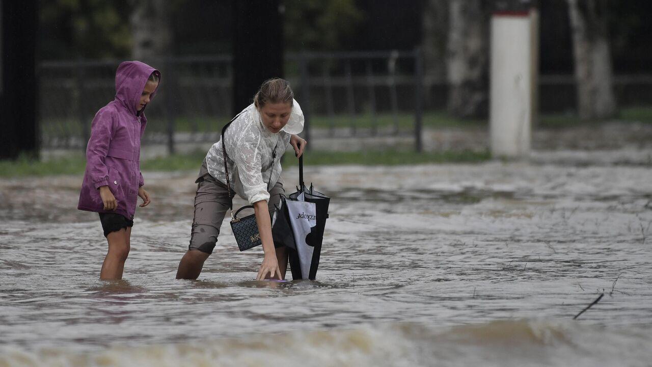 В Керчи началась эвакуация населения из зон подтопления