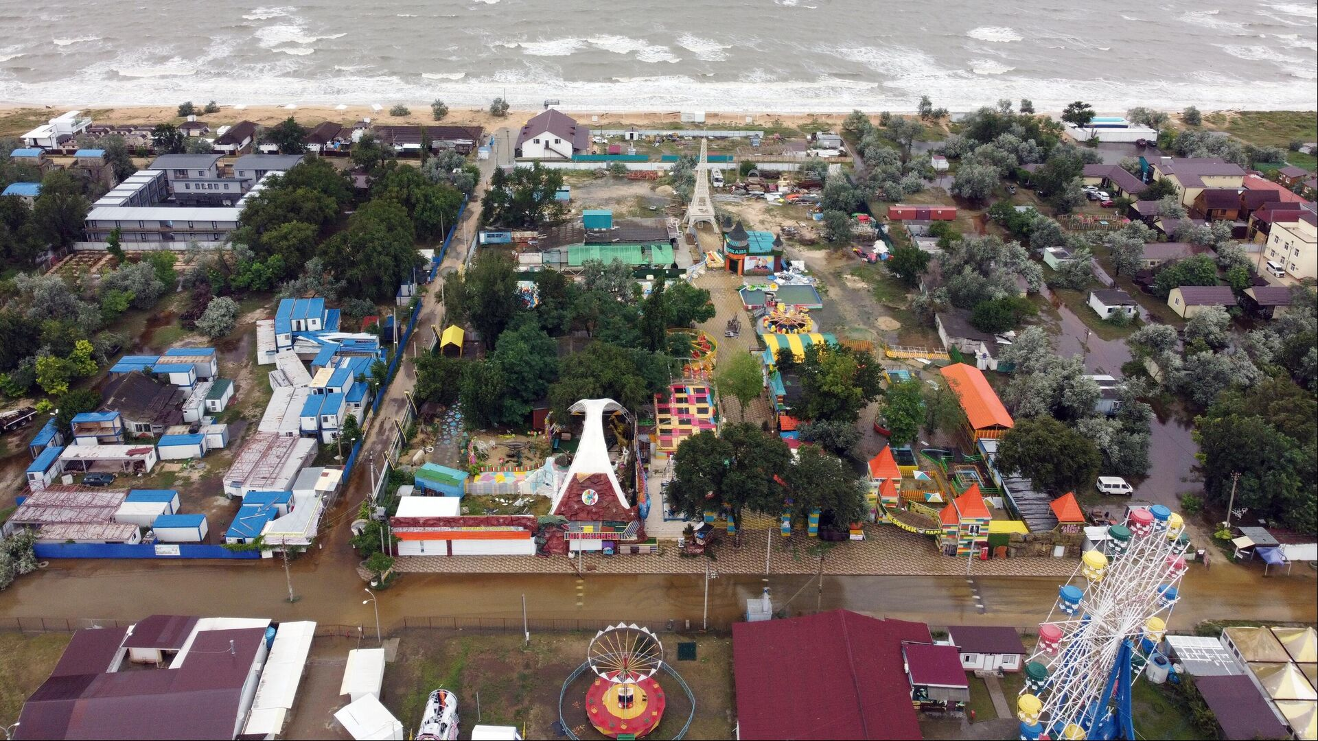 На Кубани из-за подтоплений эвакуировали более 1,5 тысячи человек