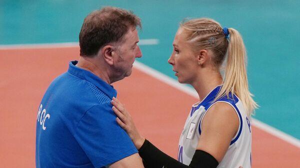 Серджио Бузато и Анна Подкопаева
