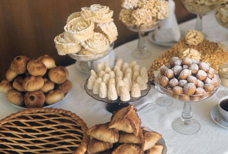 Кондитерские изделия татарской кухни