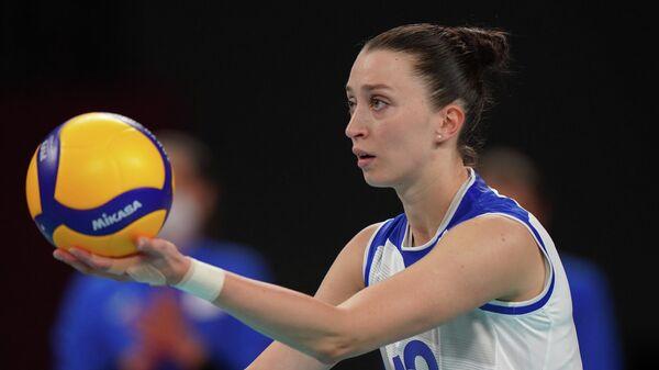 Олимпиада-2020. Волейбол. Женщины. Матч Россия - Италия