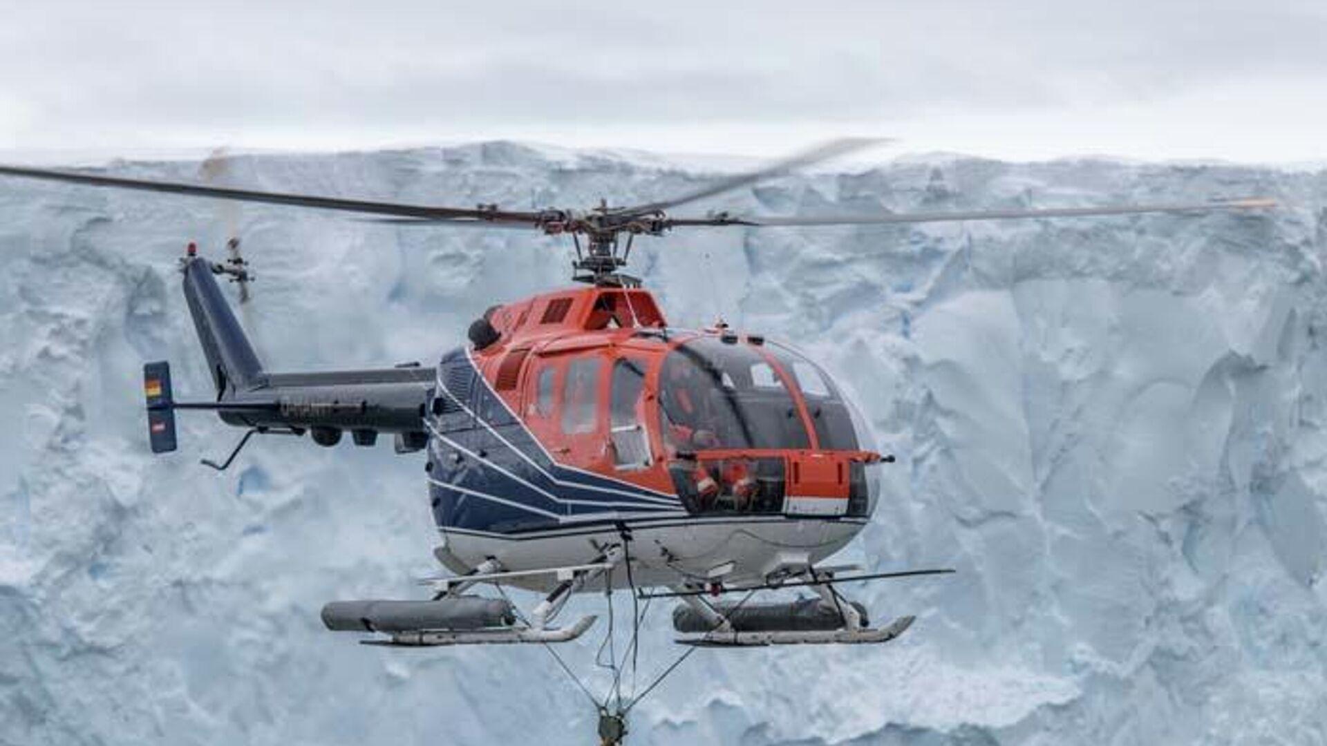 Ученые выяснили причину нагрева под ледником Антарктиды