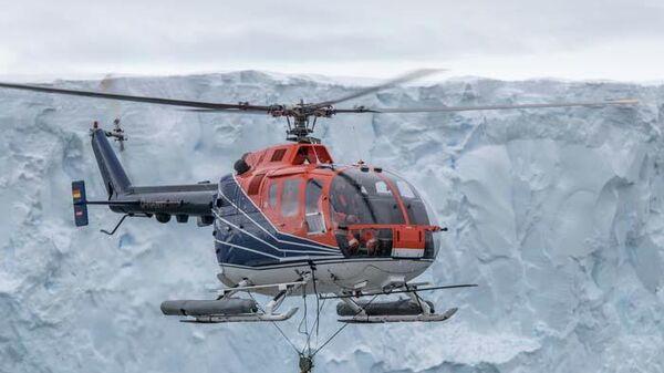 Геофизические измерения на леднике Туэйтса