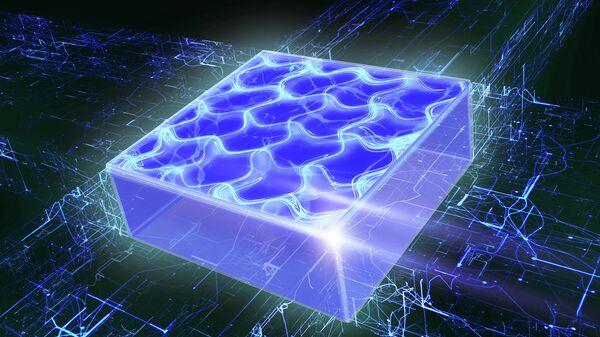 Двумерный сверхтвердый квантовый газ