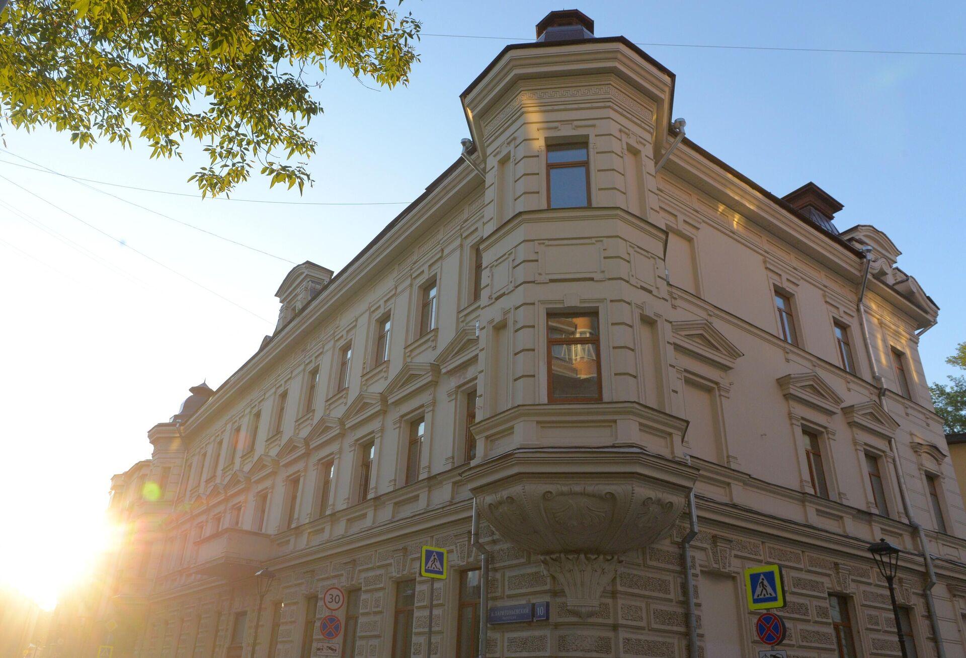 Дом в Большом Харитоньевском переулке в Москве - РИА Новости, 1920, 09.09.2021