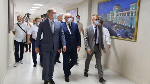 Омский губернатор открыл новый корпус психоневрологического интерната